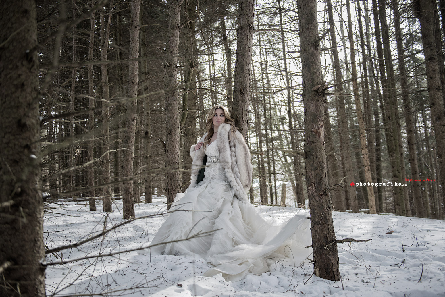 D S Winter Wedding By Toronto Wedding Photographers Toronto Creative Wedding Photographer