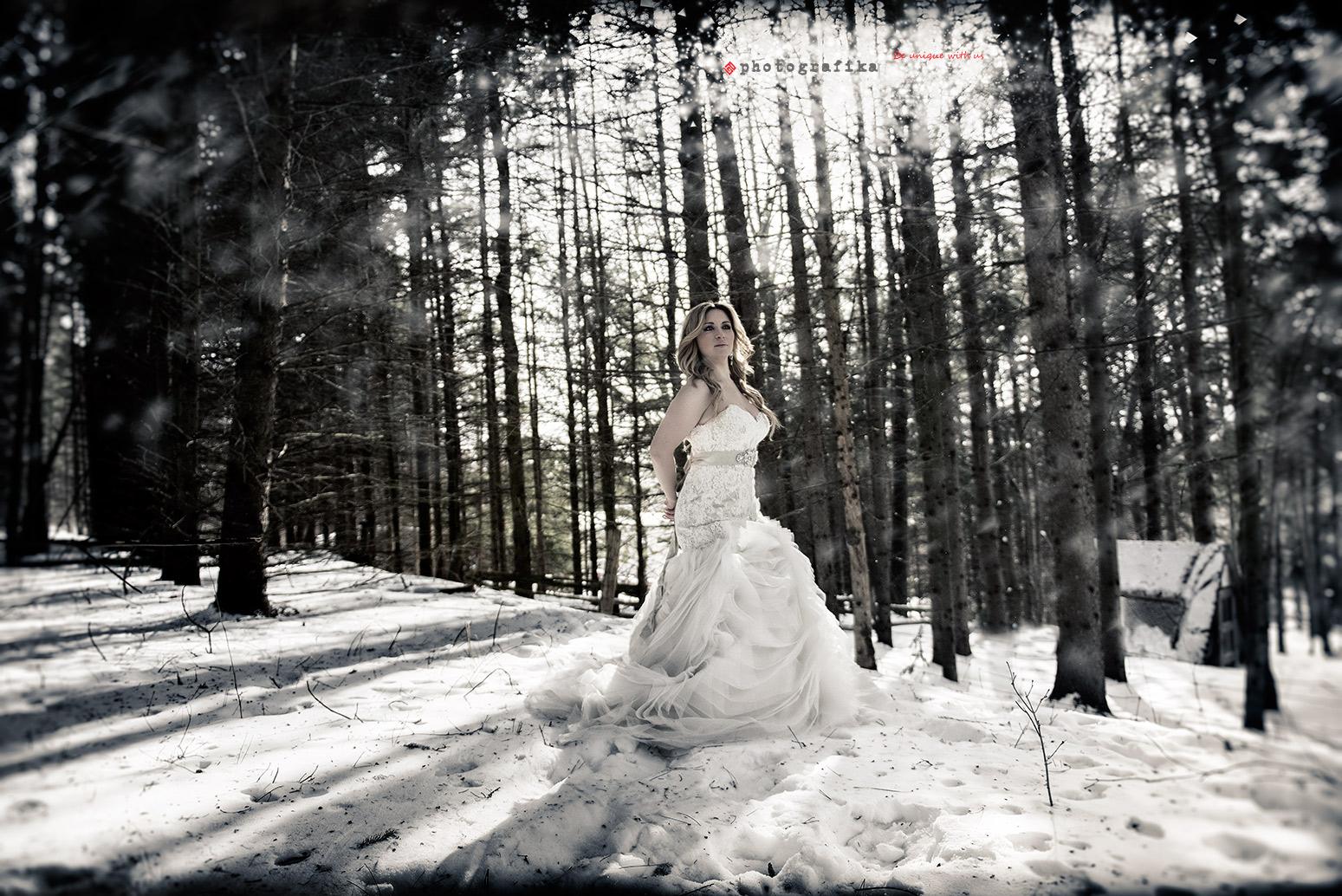 Unique Winter Engagement Photos D+S winter wedd...