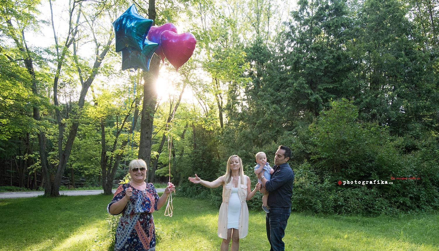 baby gender reveal photos