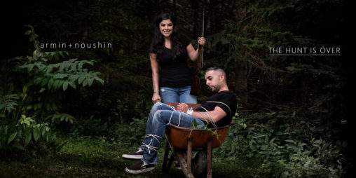 unique and creative engagement photography